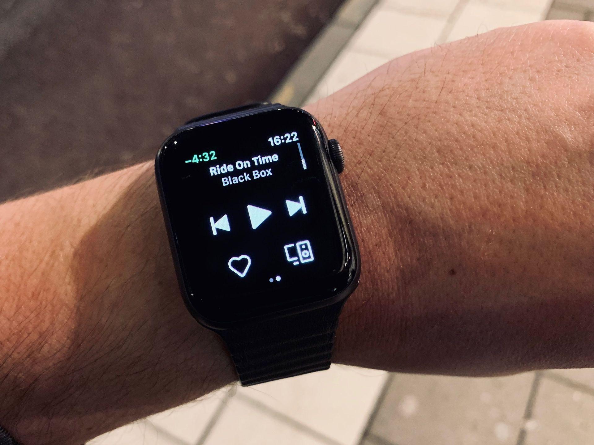 Nu kommer Spotify till Apple Watch