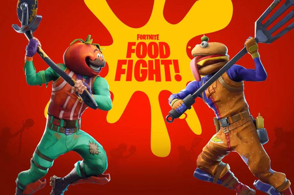 Nu blir det matkrig i Fortnite!