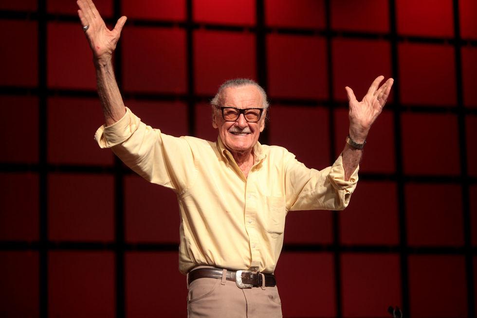 Stan Lee höll på att utveckla en ny superhjälte innan han dog