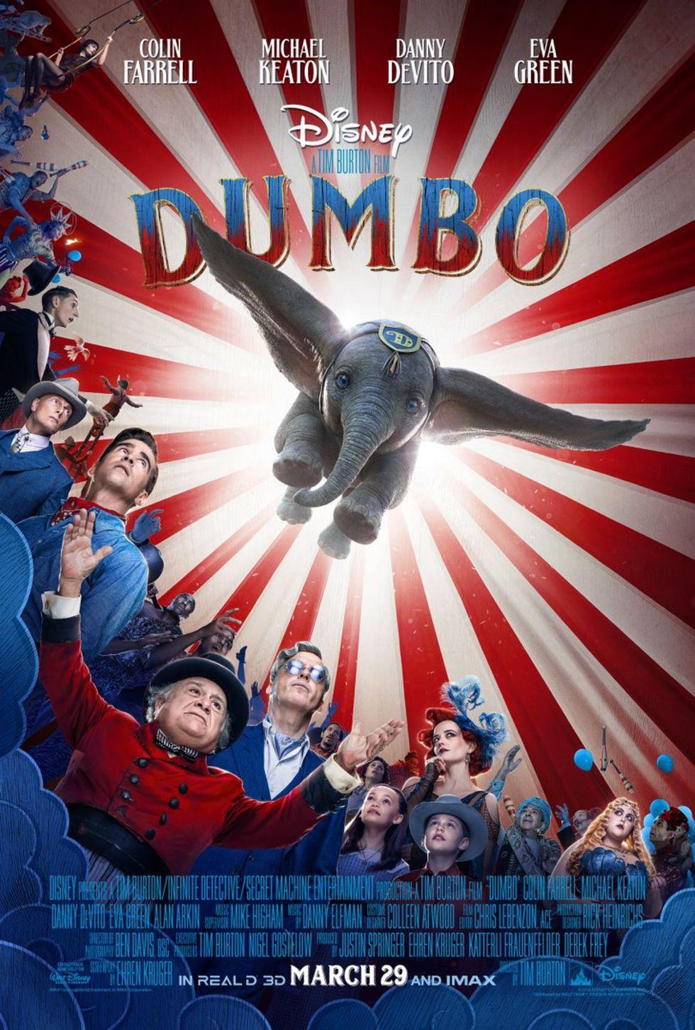 Kolla in trailern till Dumbo