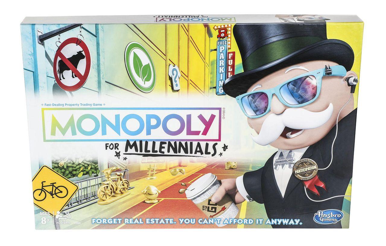 Nu kommer Monopol för millennials
