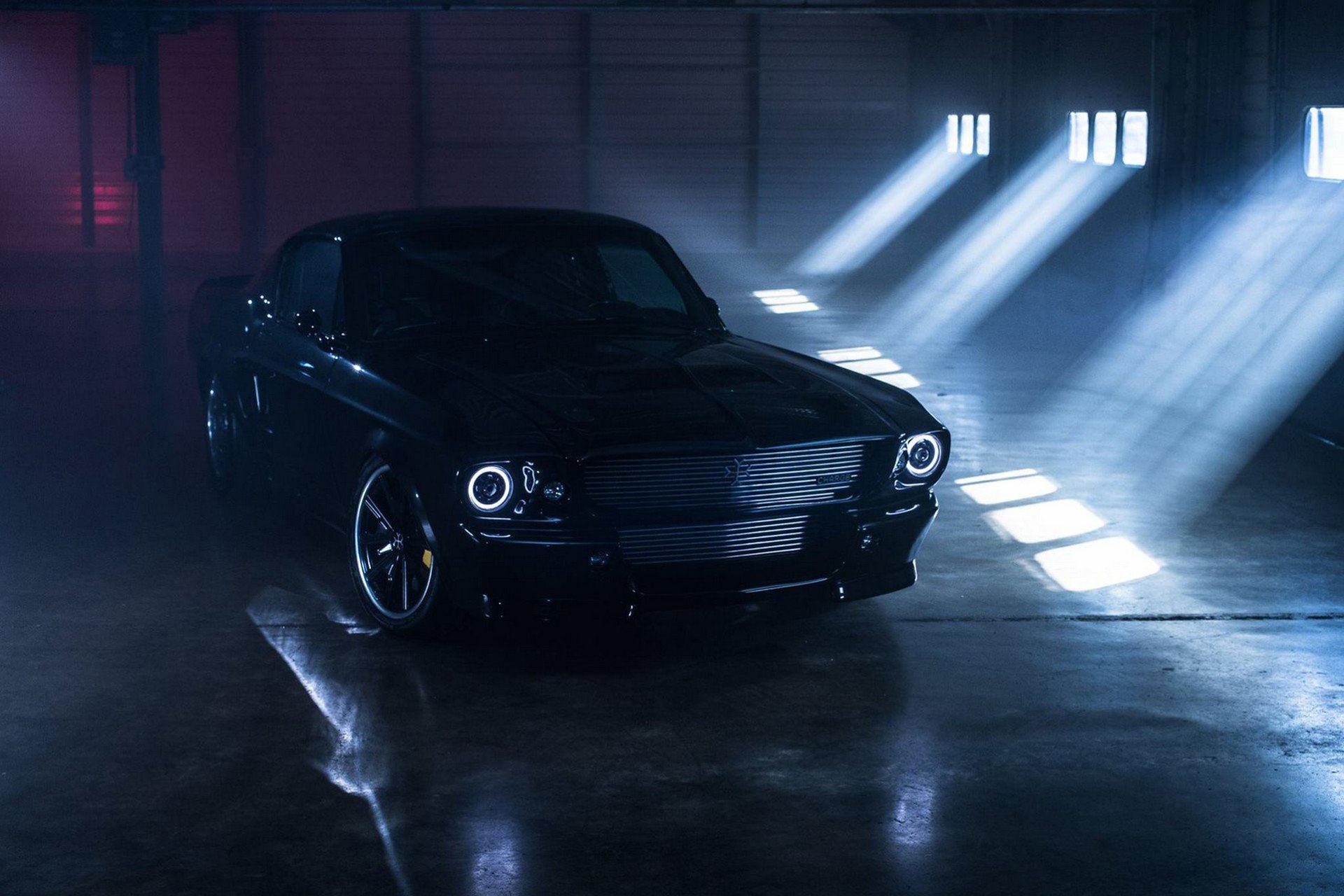 Charges klassiska Ford Mustang är helt eldriven