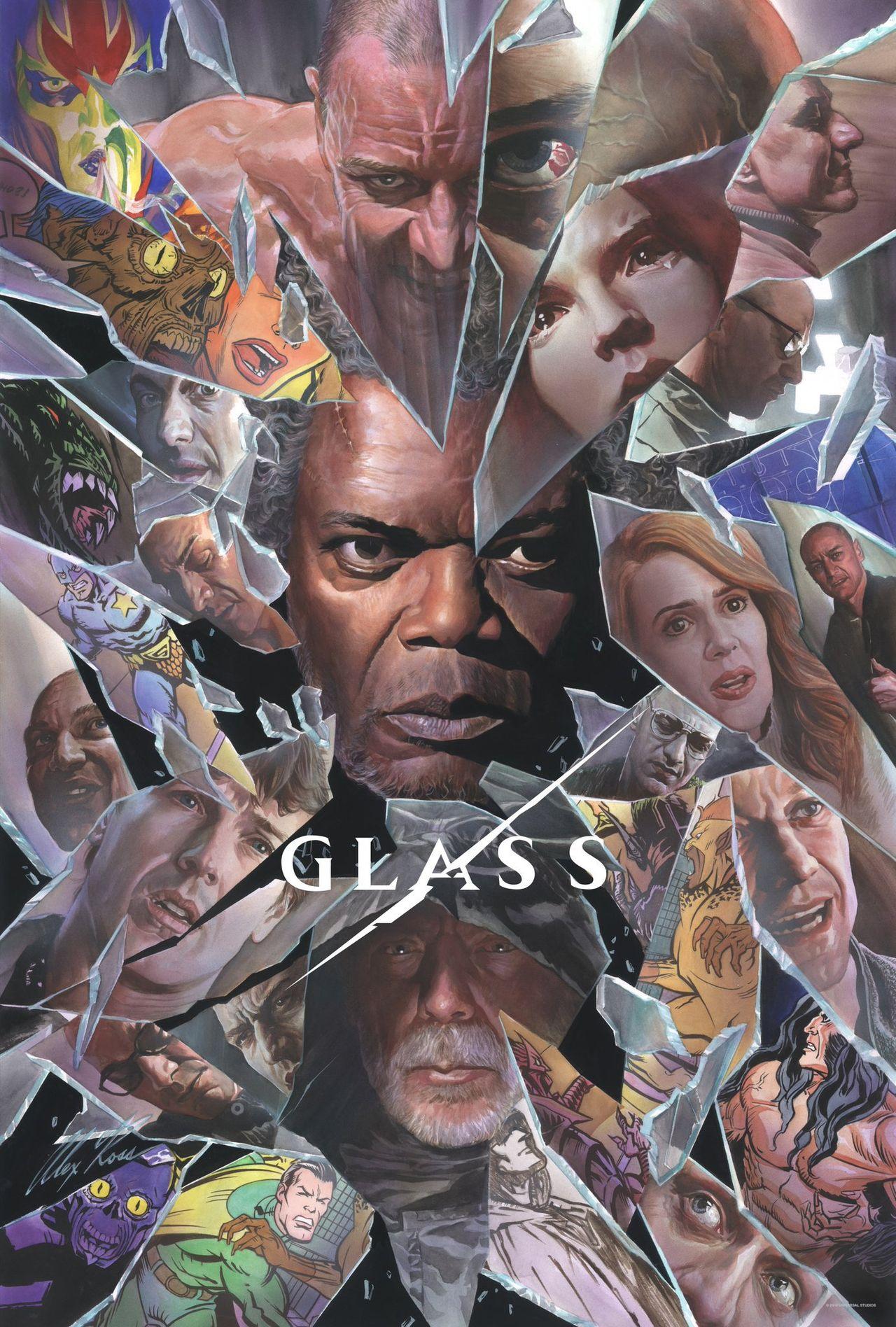 Kolla in tv-trailern till Glass