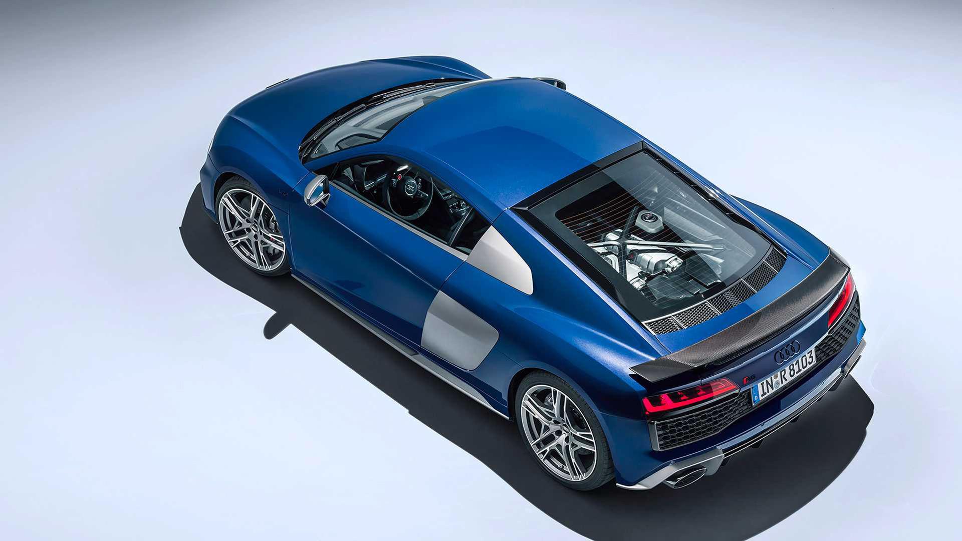 Ingen V6:a i Audi R8