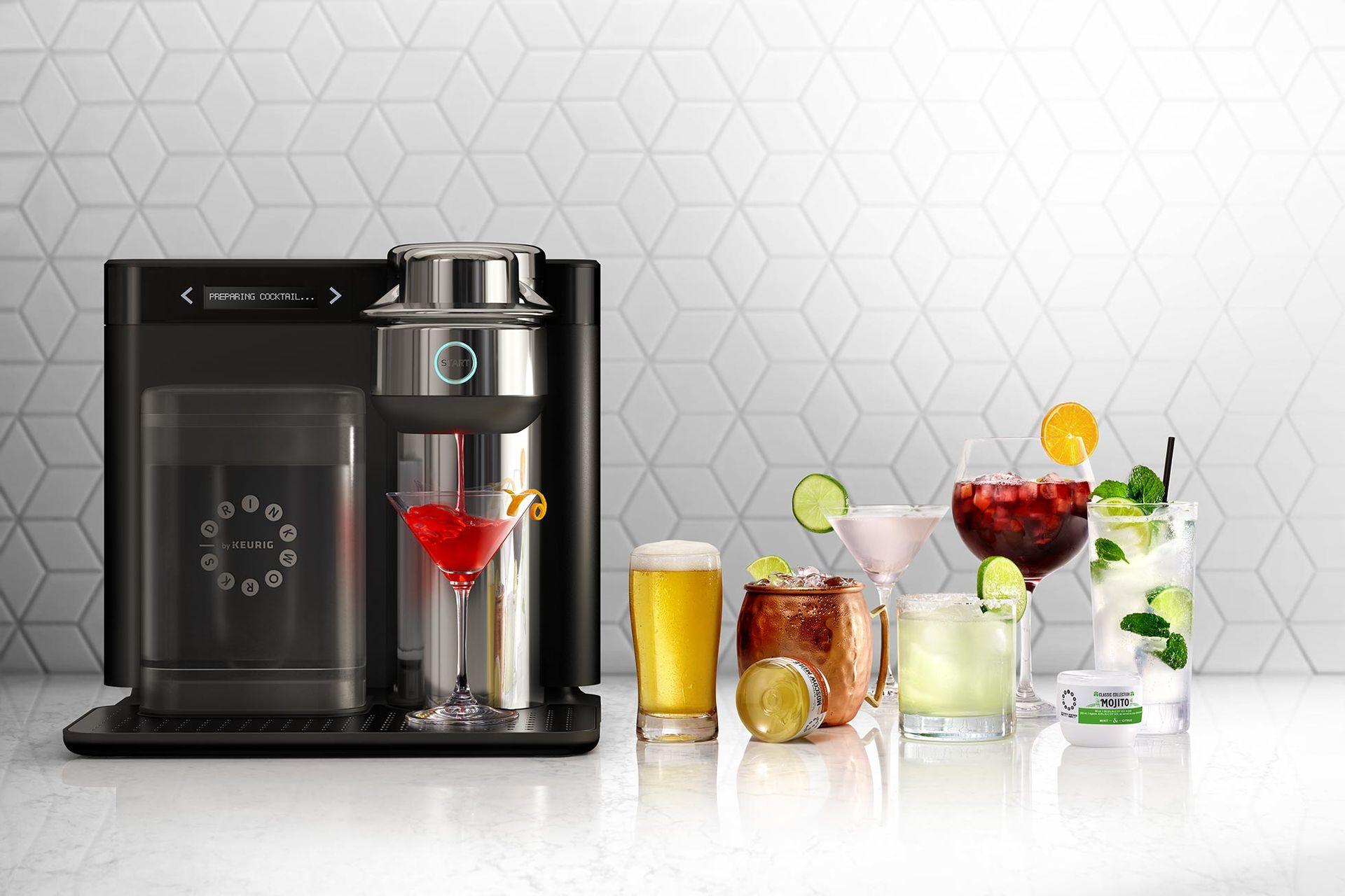 Ny maskin fixar drinken eller ölen från kapsel