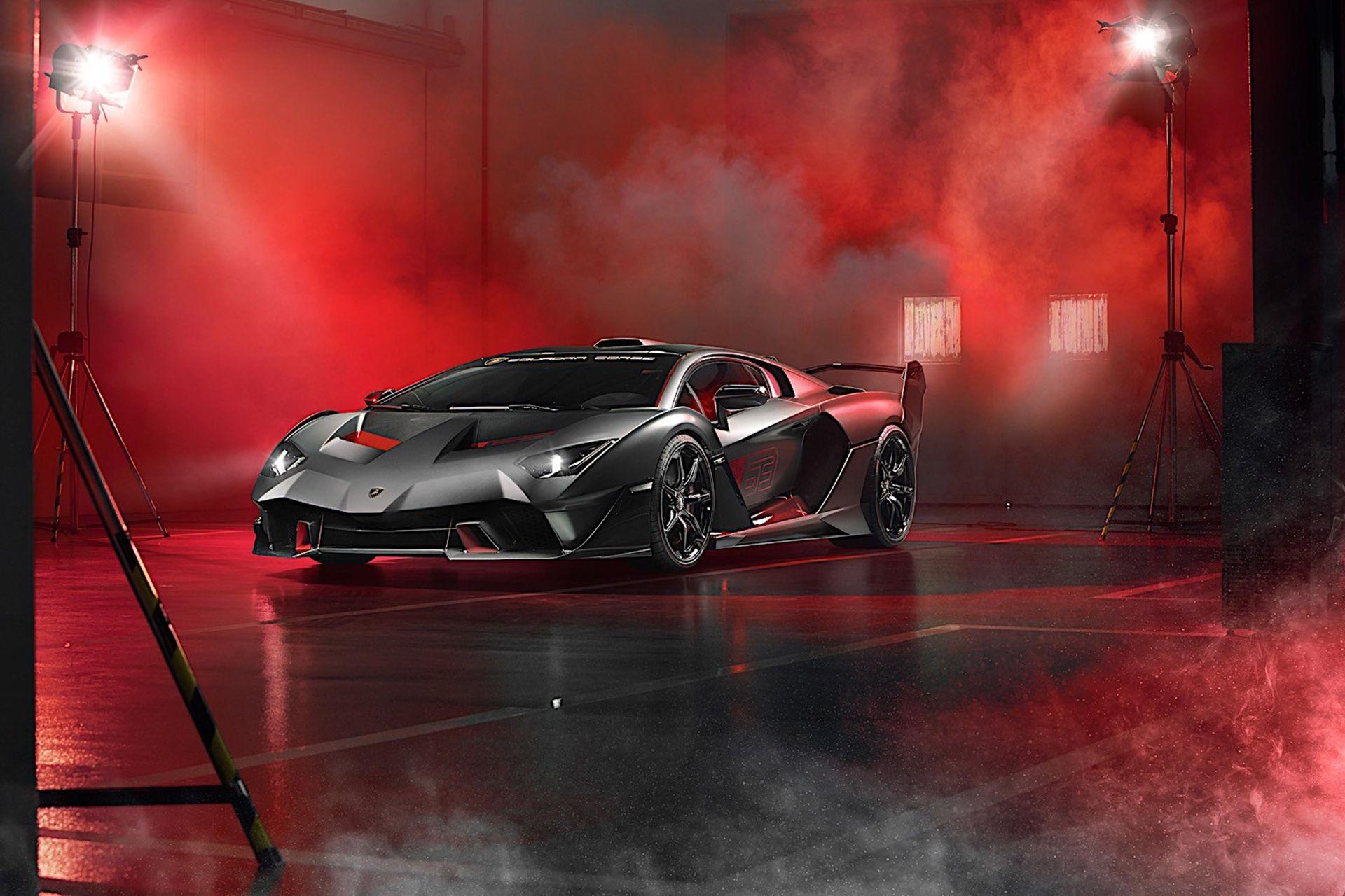 Lamborghini visar två nyheter