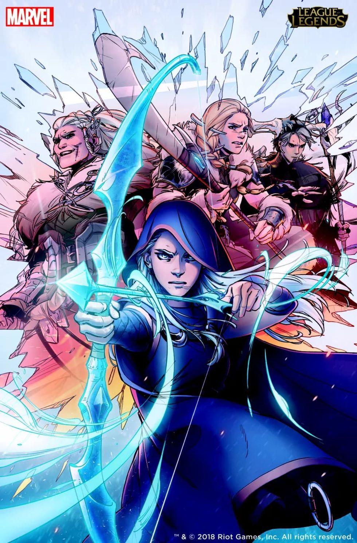 Marvel gör serietidning av League of Legends
