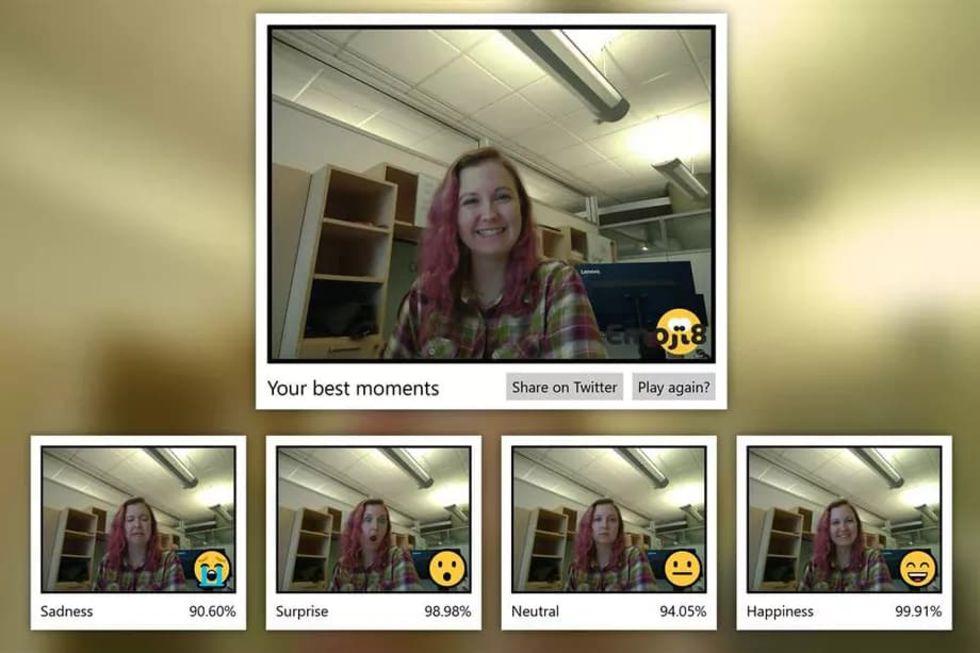 Microsoft släpper app där du ska imitera emojis