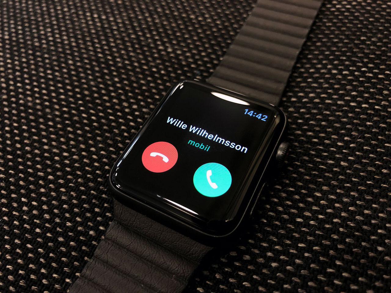 Nu kommer Apple Watch med eSim till Telenor