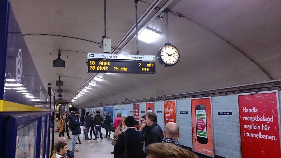 Nu kommer kroppskameror till Stockholms tunnelbana