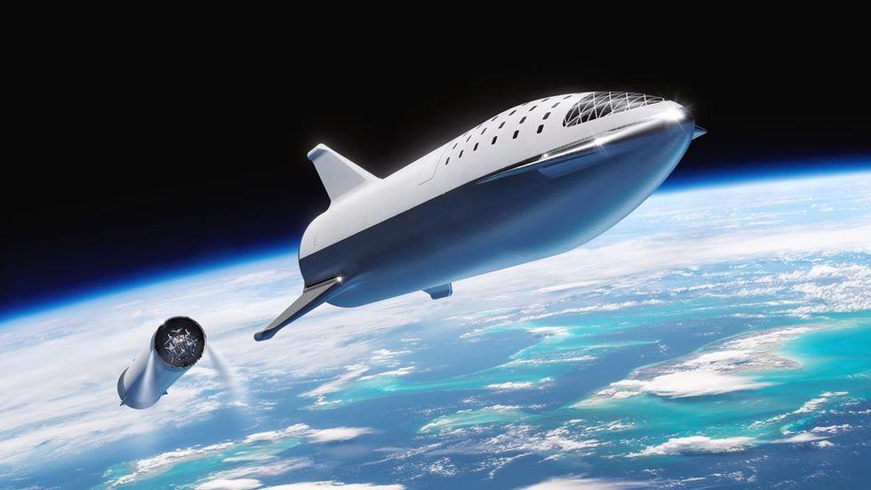 SpaceX raket BFR byter namn