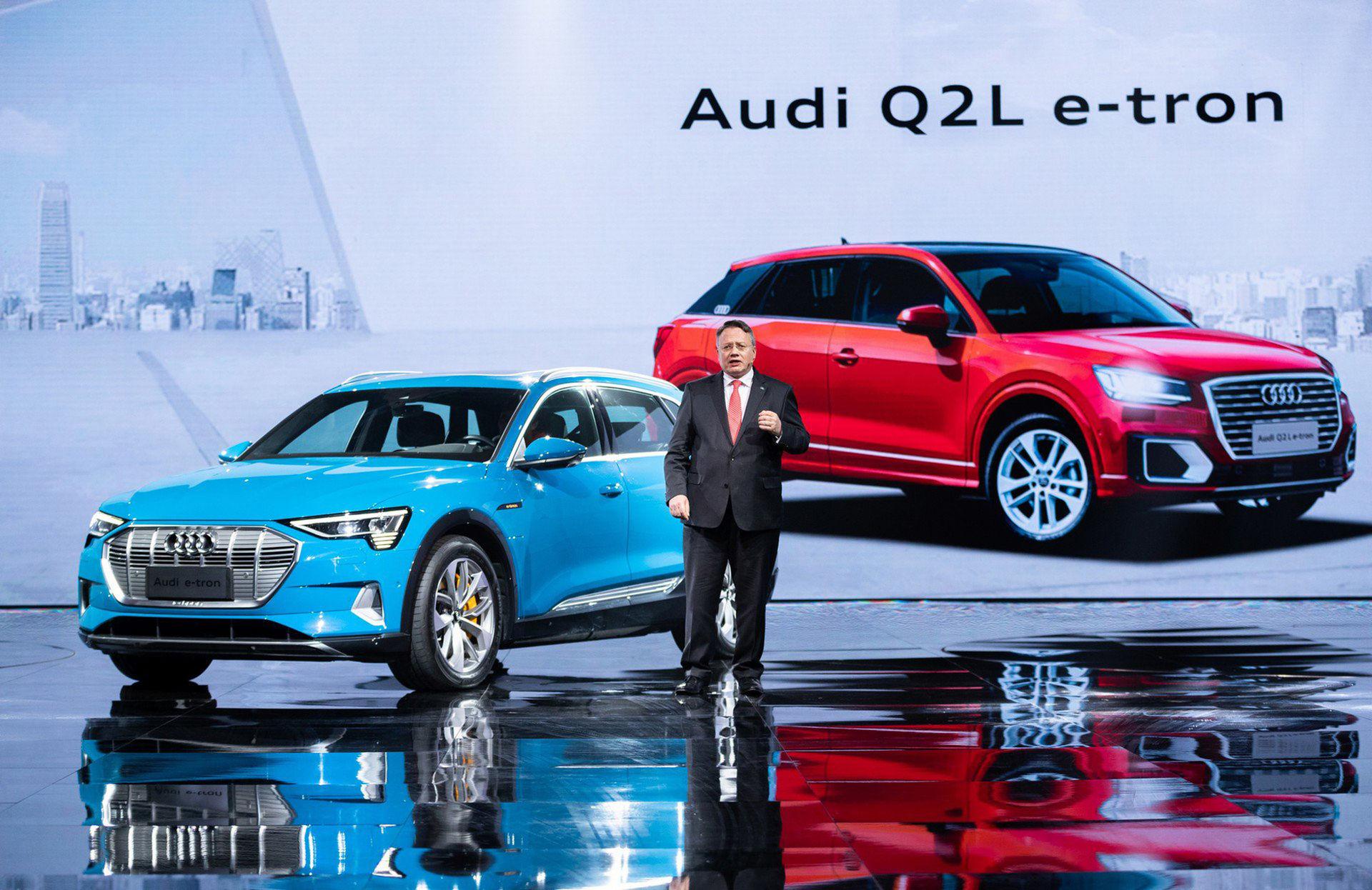Audi Q2 kommer som elbil i Kina