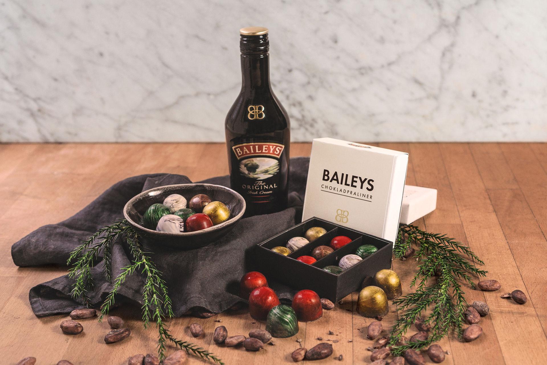 Baileys och Chokladfabriken släpper chokladask