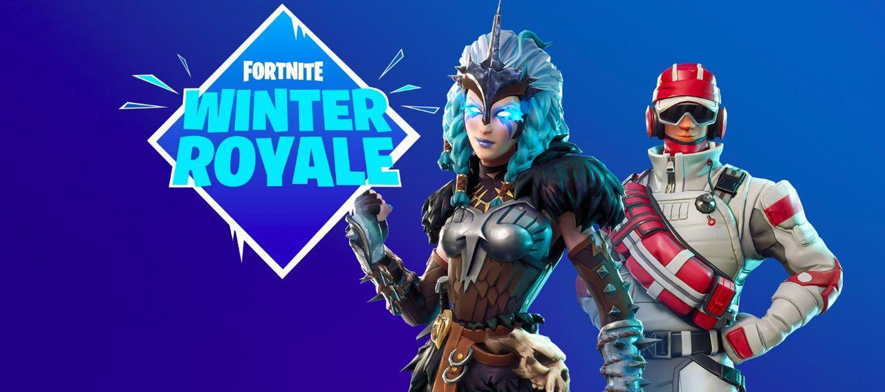 På lördag drar Fortnite Winter Royale igång