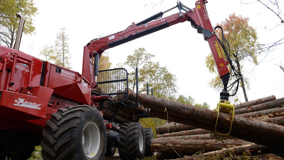 Skogsbranschen vill utveckla självkörande skogsmaskiner
