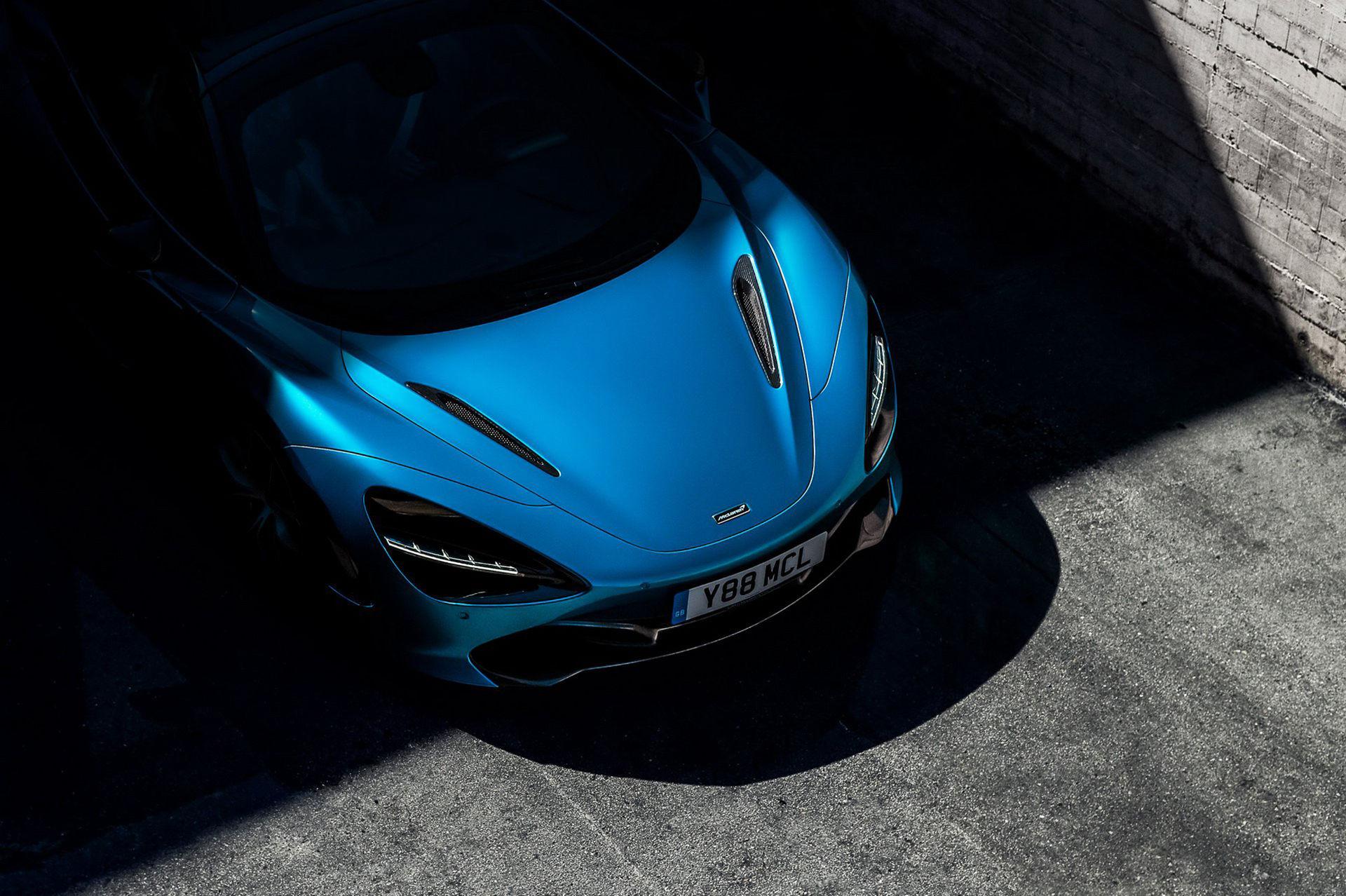 McLaren 720S Spider presenteras den 8 december
