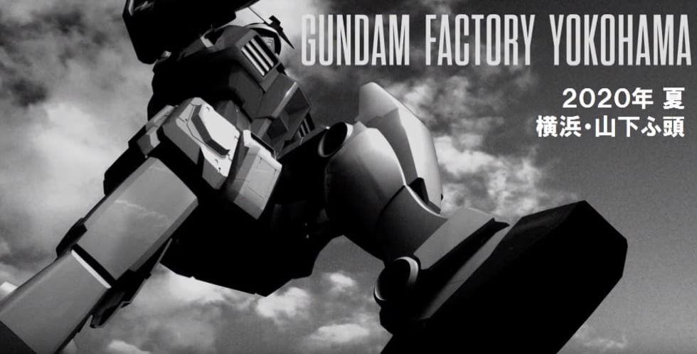 Gundam-robot i verklig storlek byggs i Yokohama