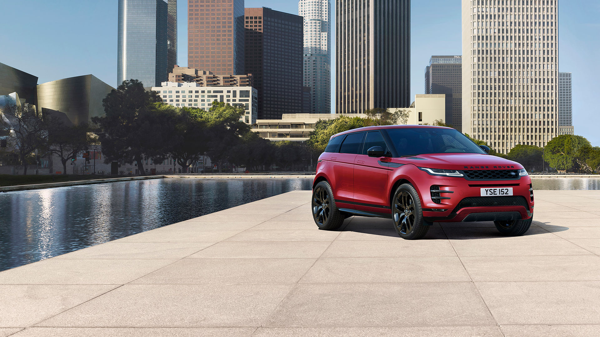 Range Rovers lilla lyx-SUV Evoque i ny förpackning