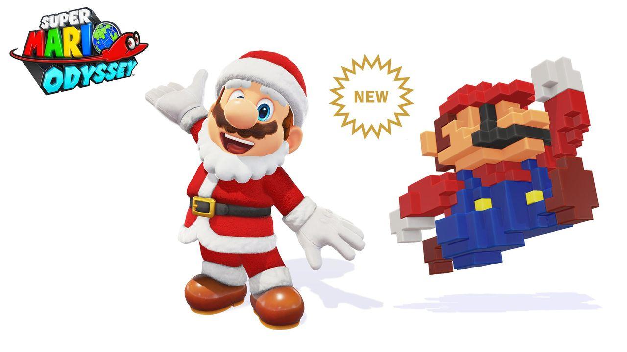 Nintendo lägger till 8-bit-dräkt i Super Mario Odyssey