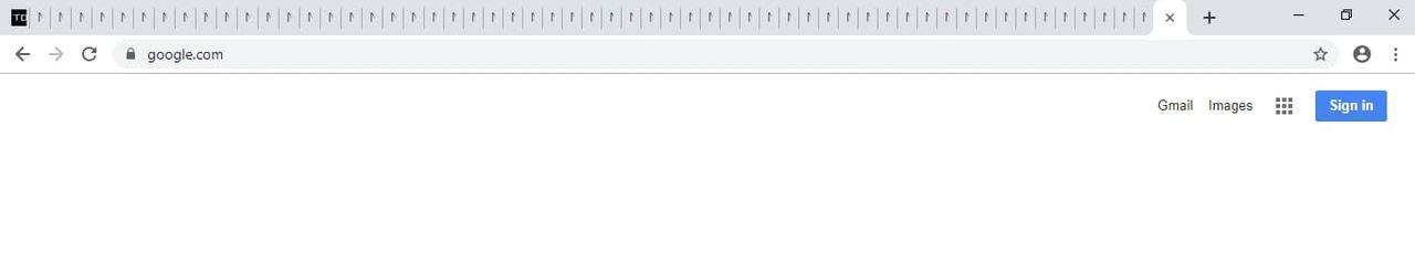 Chrome sägs få skrollbar tabb-lista