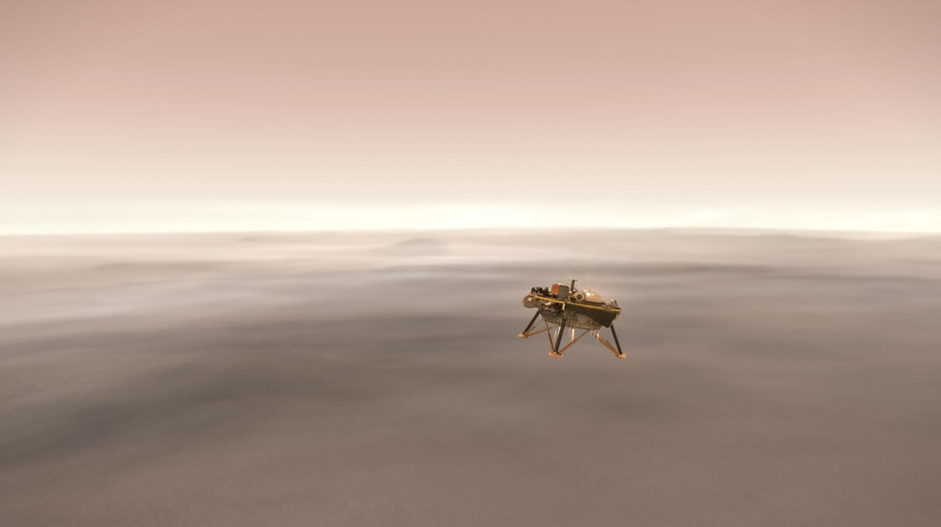 Idag landar InSight på Mars