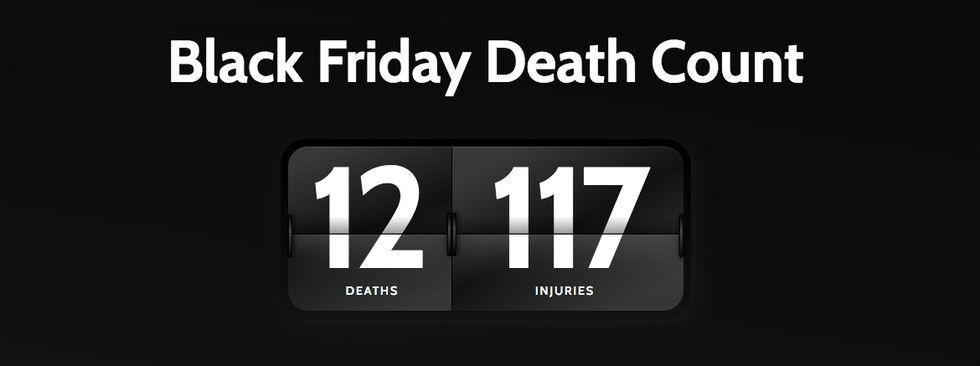 Två döda under årets Black Friday-shopping