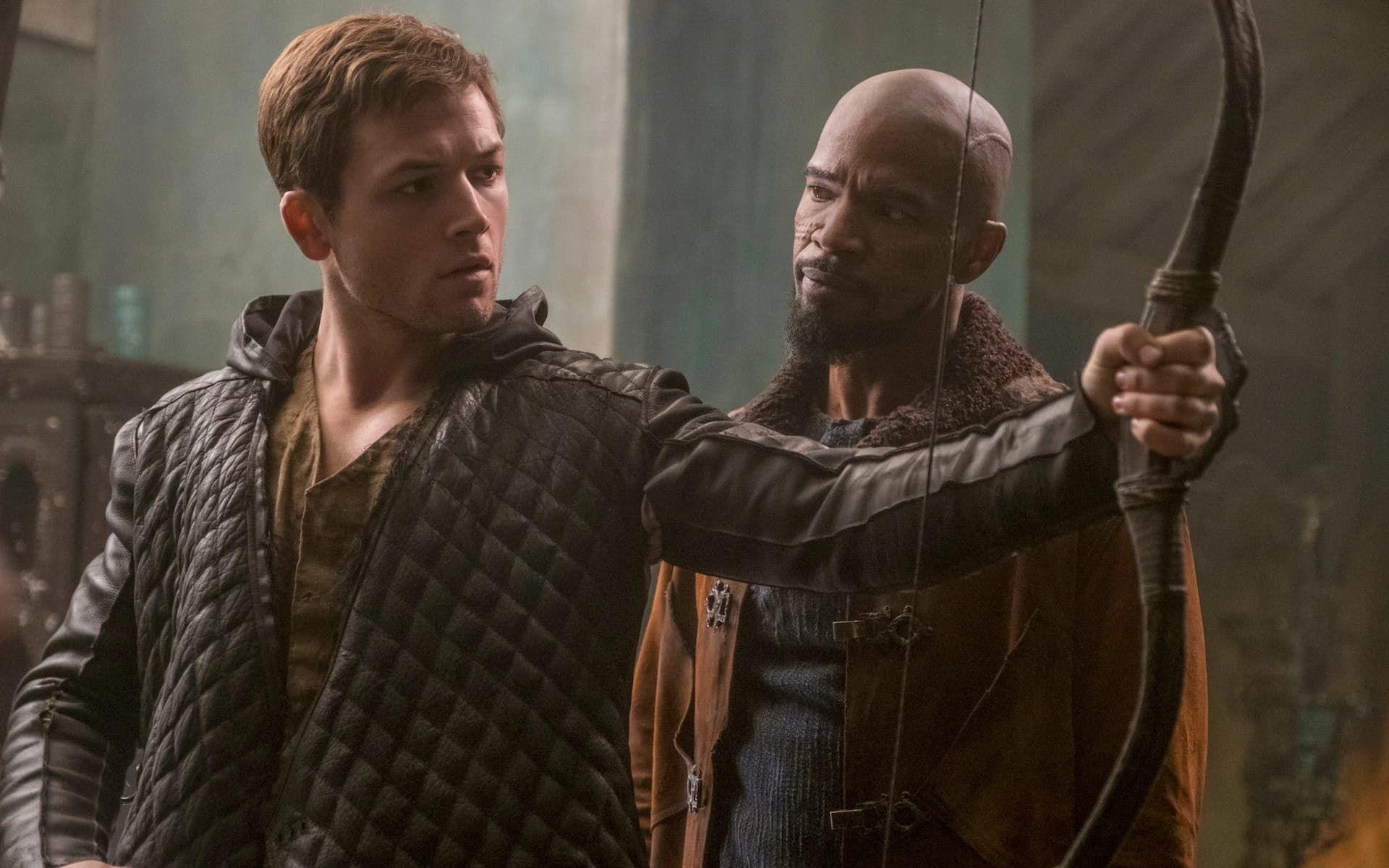 Robin Hood tokfloppade på de amerikanska biograferna