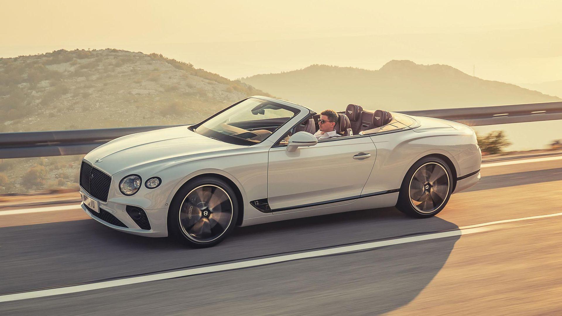 Det här är Bentley Continental GT utan tak