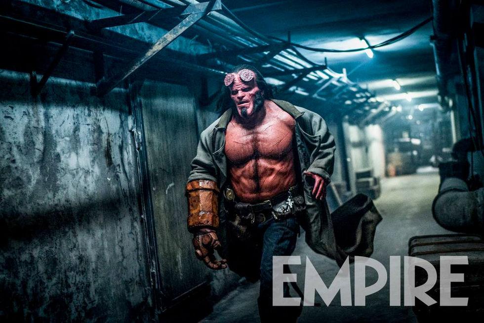 Hellboy ser bulkig ut i ny bild