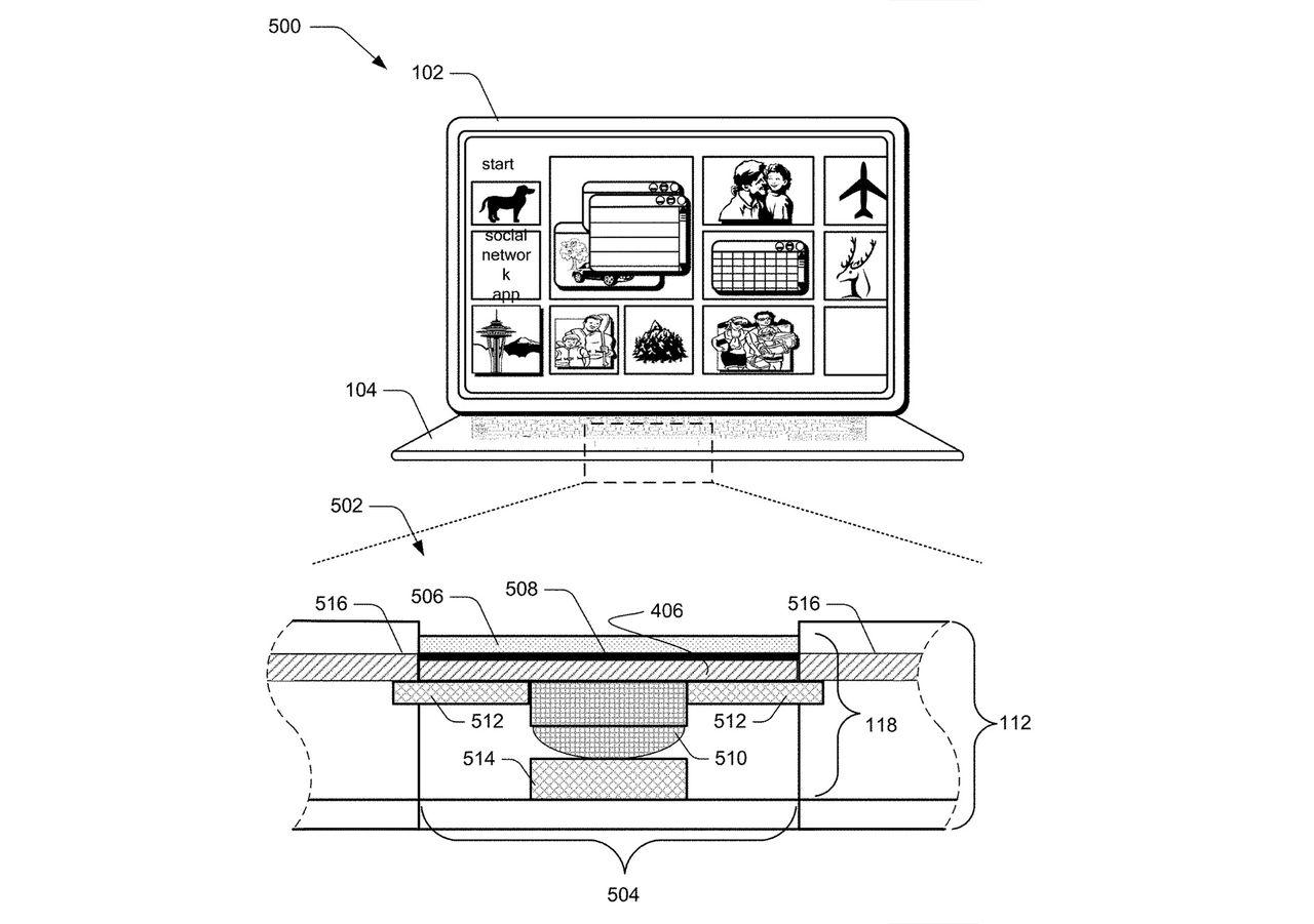 Patent hintar om tunnare tangentbord till Surface Pro