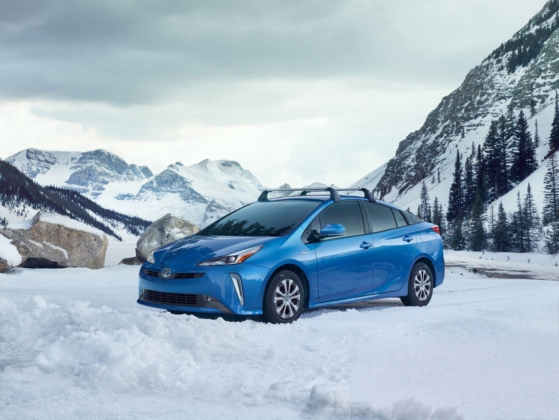 Toyota Prius får fyrhjulsdrift