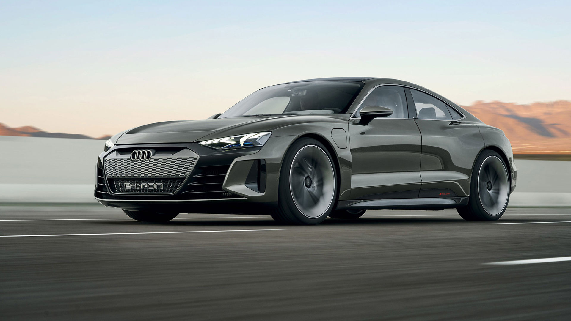 Nästa koncept i Audis elbilsliga - en sportig GT-vagn