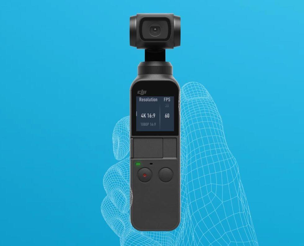 Det här är DJIs GoPro-utmanare: Osmo Pocket!