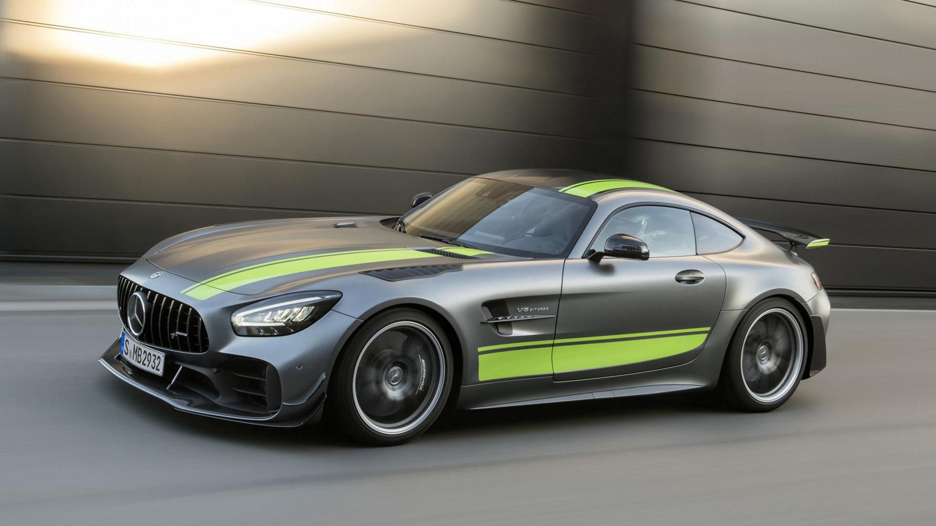 Mercedes släpper ännu vassare AMG GT R