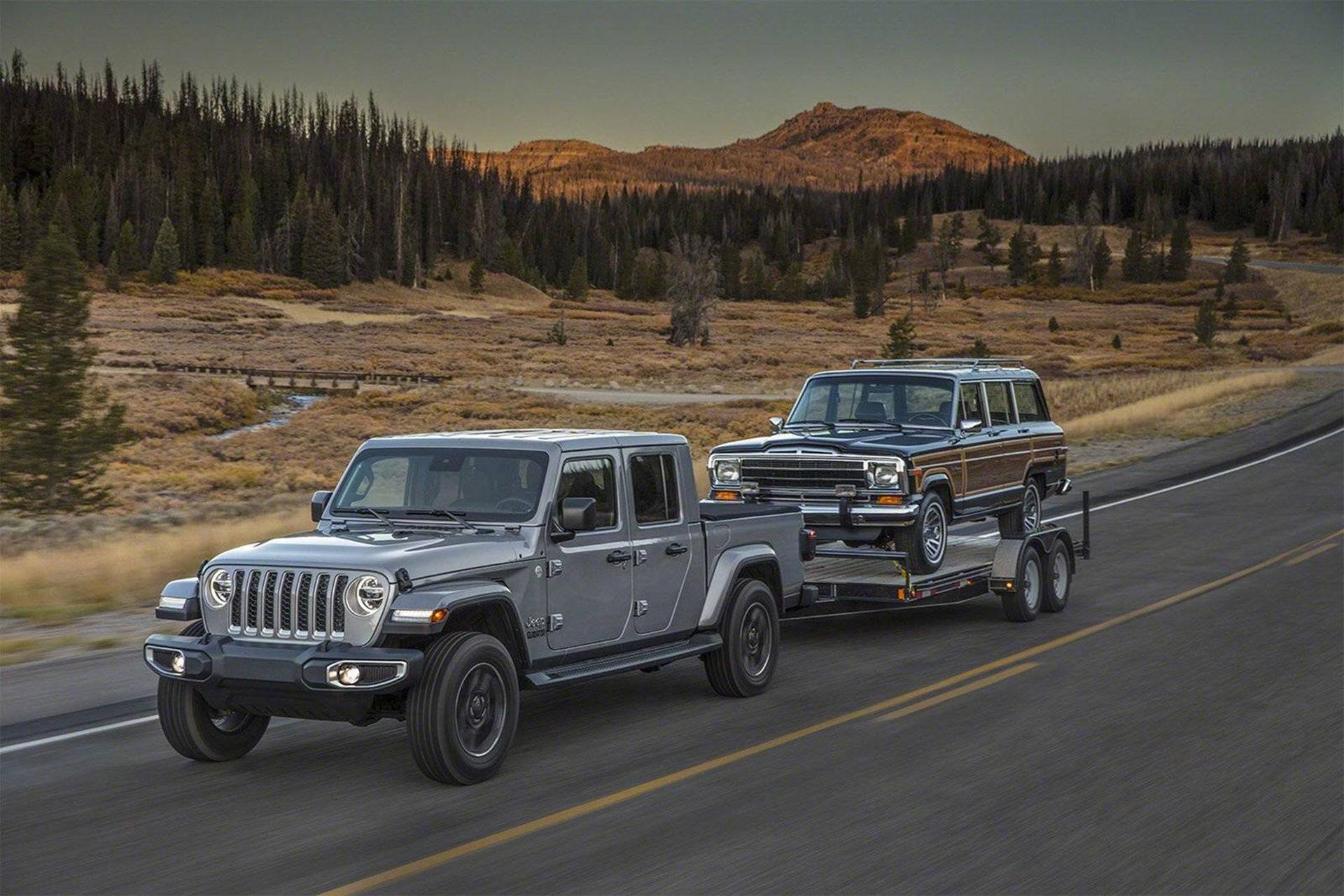 Jeep Gladiator lovar att vara en riktig pickup