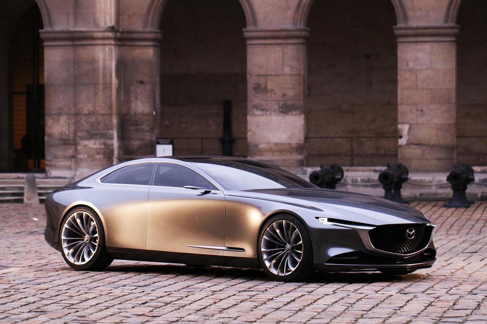 Mazdas första elbil kommer 2020