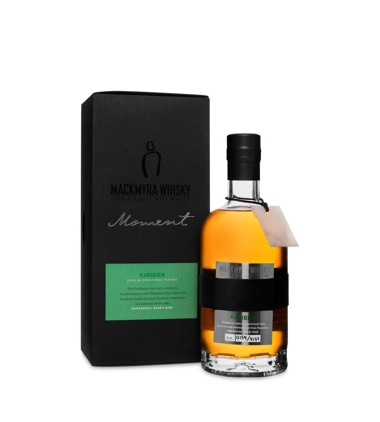 Kryddig och fruktig Whisky från Mackmyra