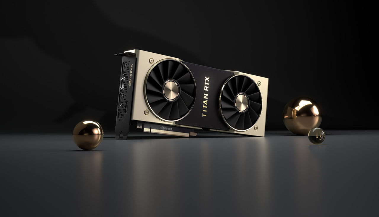Nvidia presenterar Titan RTX