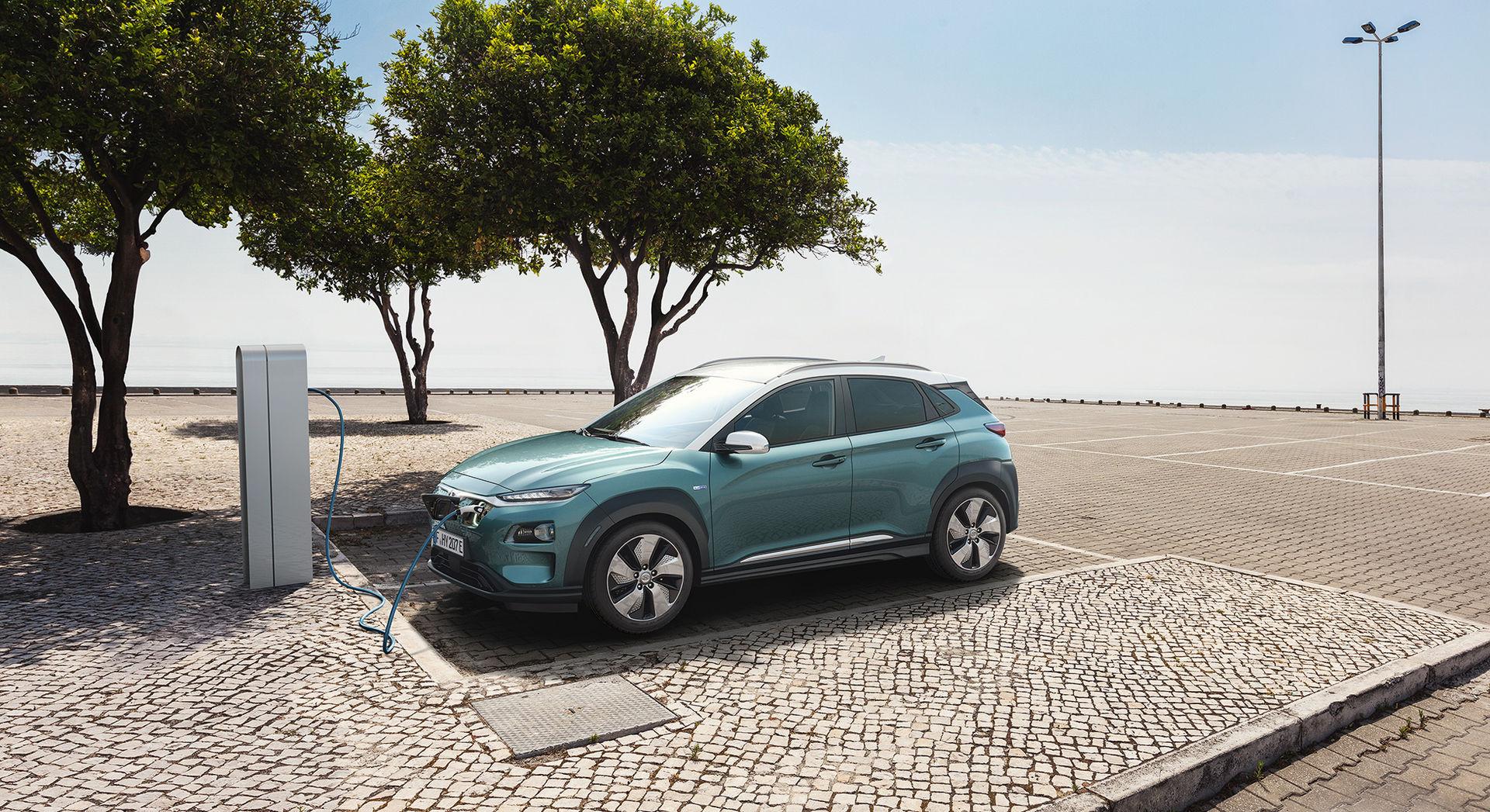 Hyundai Kona Electric får också sänkt räckvidd