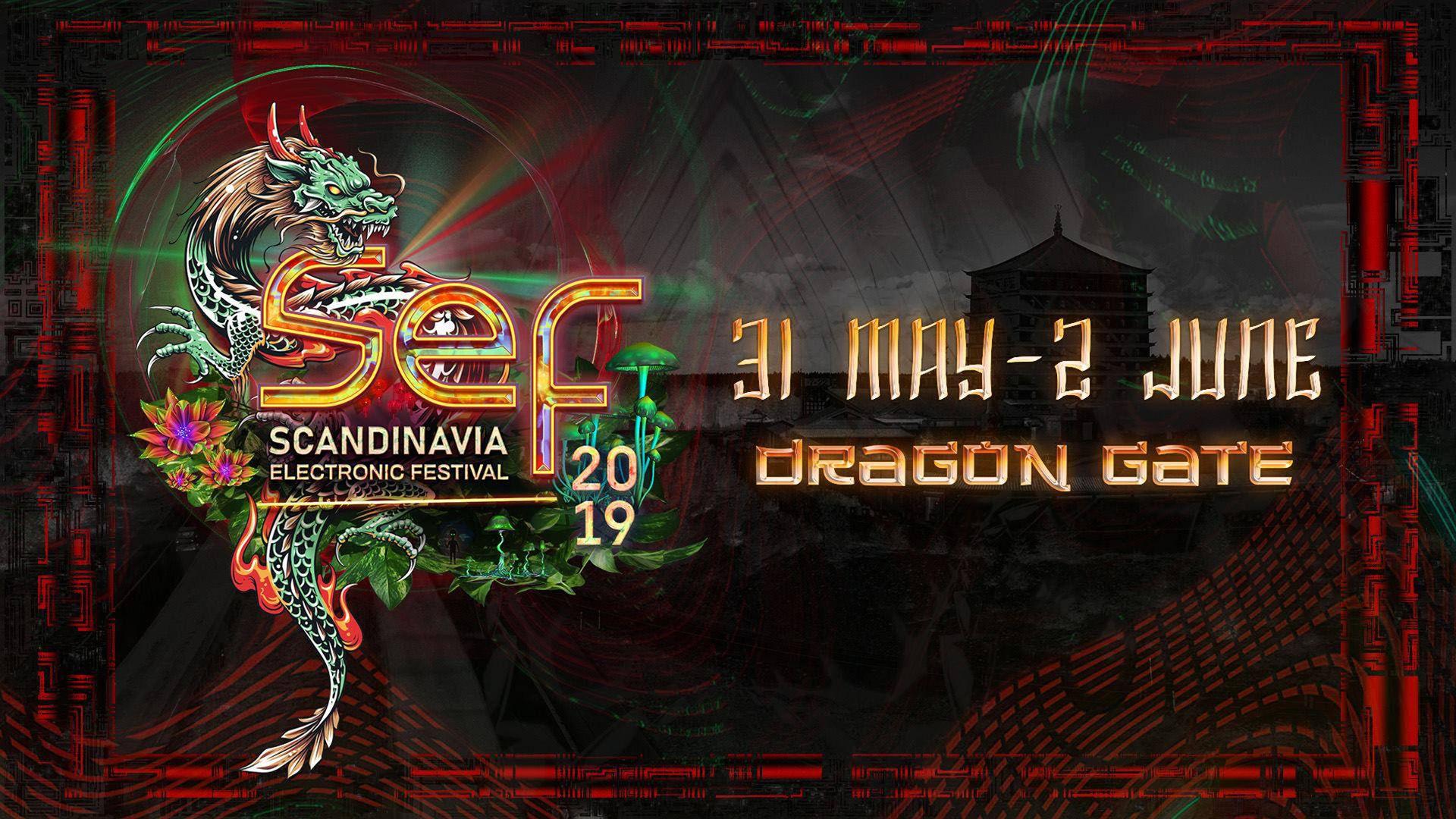 Elektronisk musikfestival på Dragon Gate