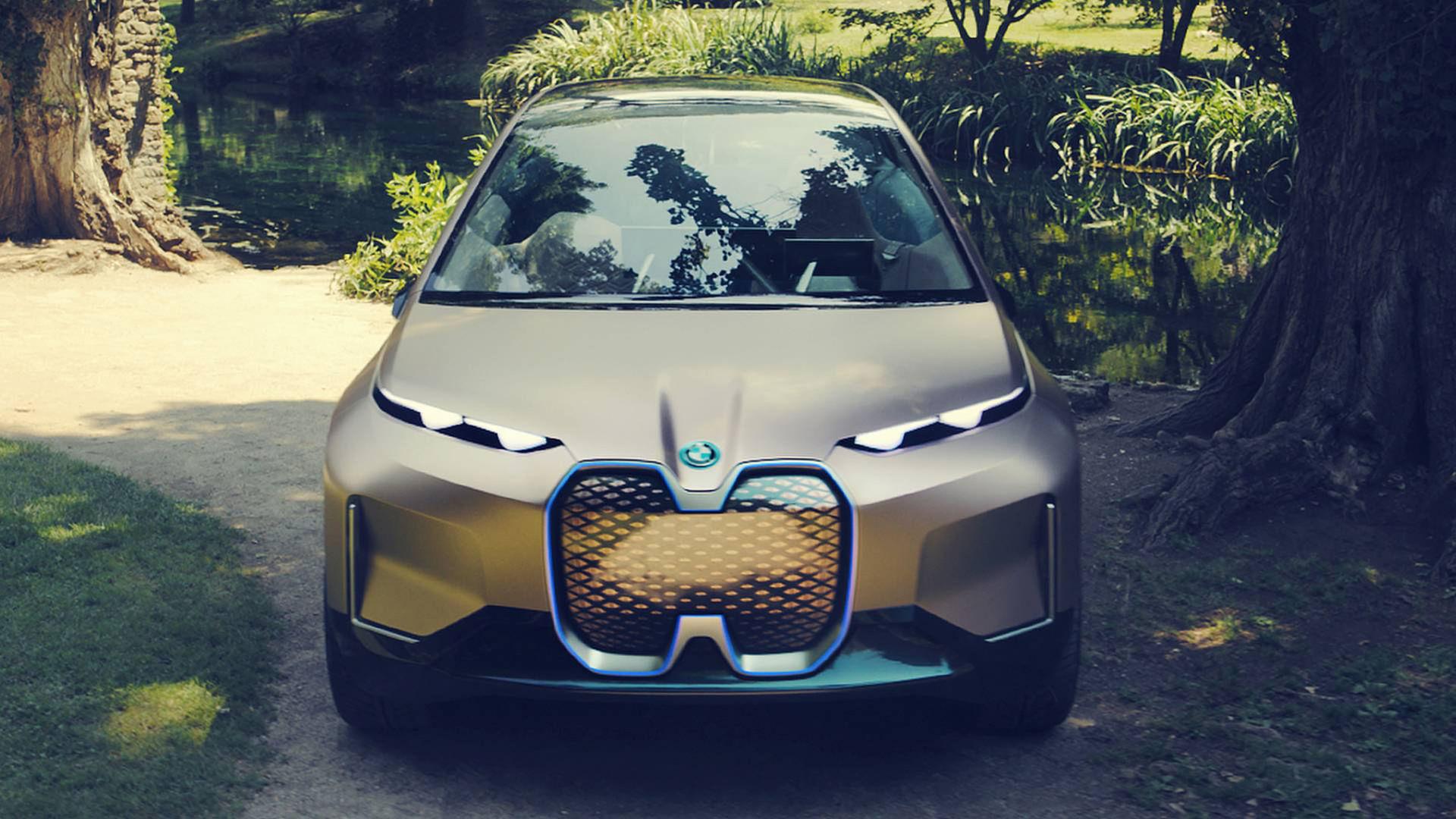 Produktionsklara BMW Vision iNext kan se ut som konceptet