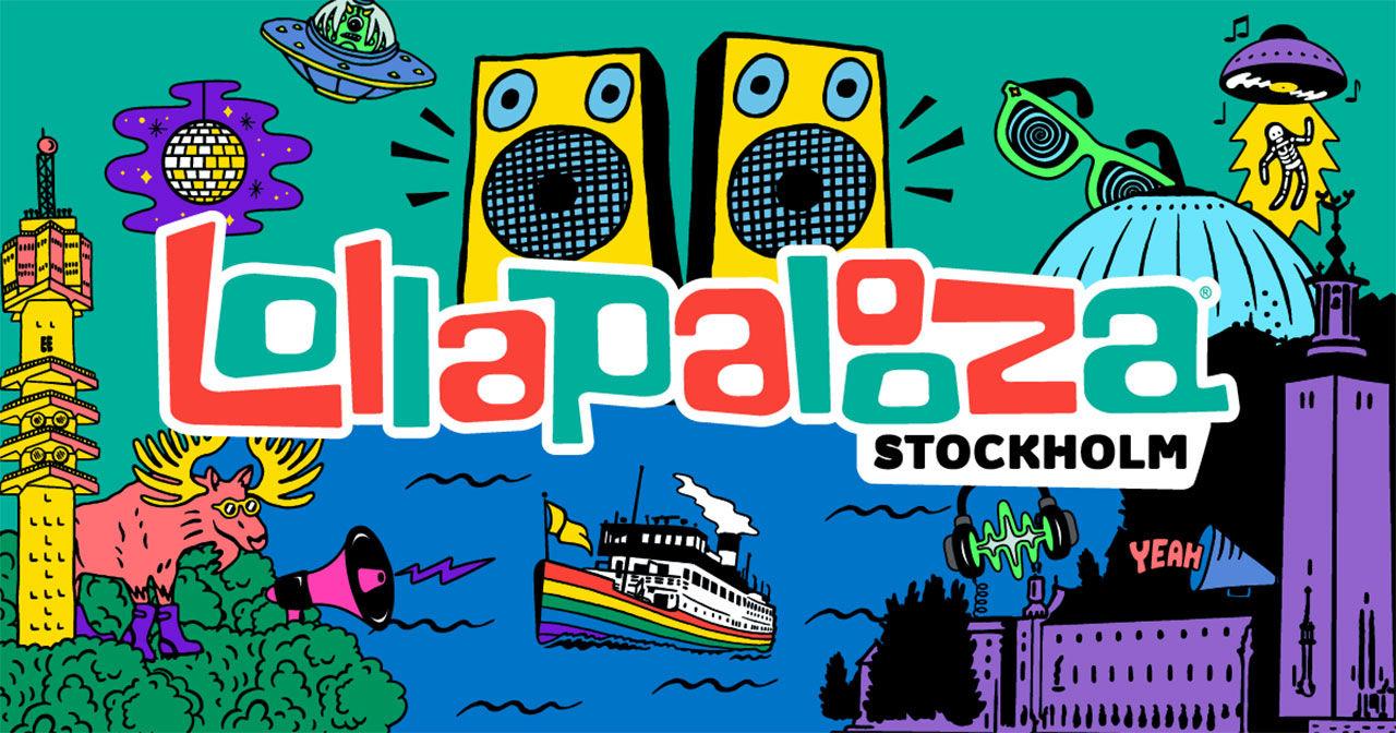 Några artister klara till Svenska Lollapalooza
