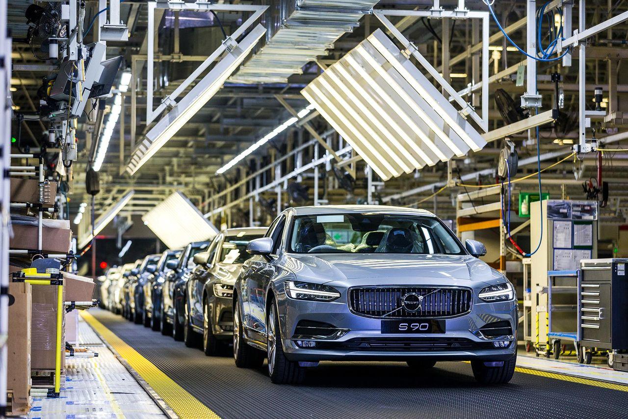 Nu har 100.000 Volvo S90 tillverkats