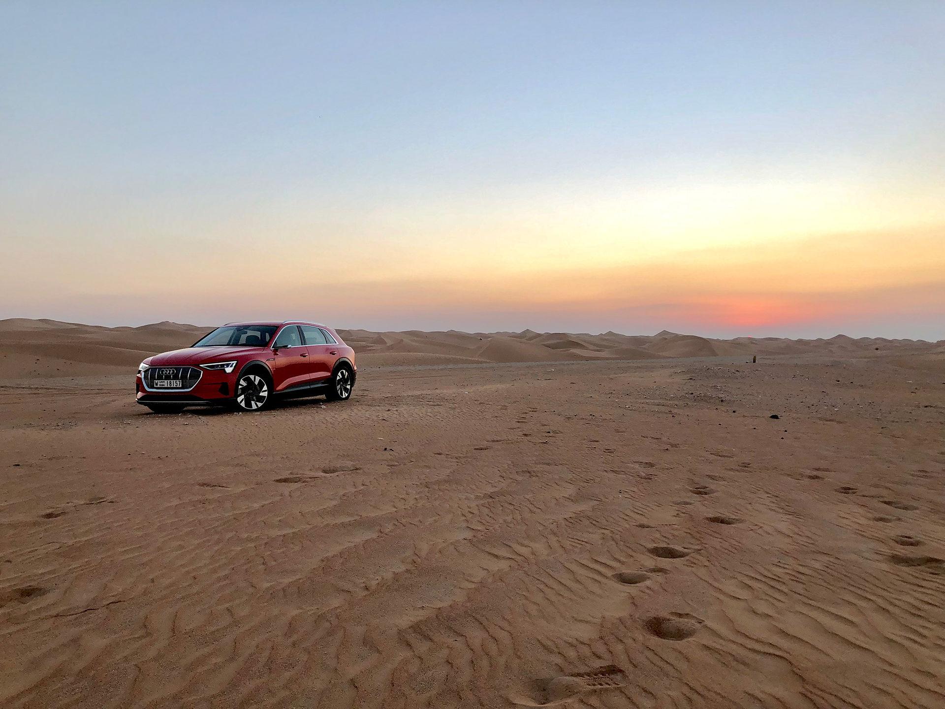 Audi tar sitt första stora kliv in i den eldrivna framtiden