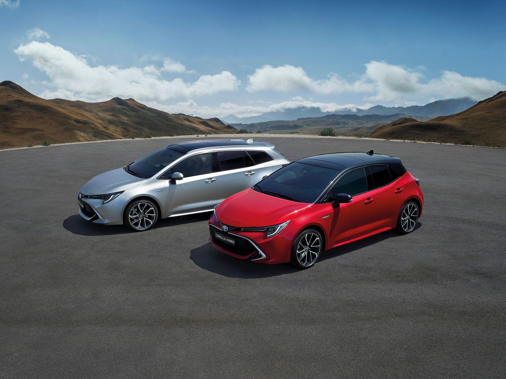 Svenska priser för nya Toyota Corolla och RAV4
