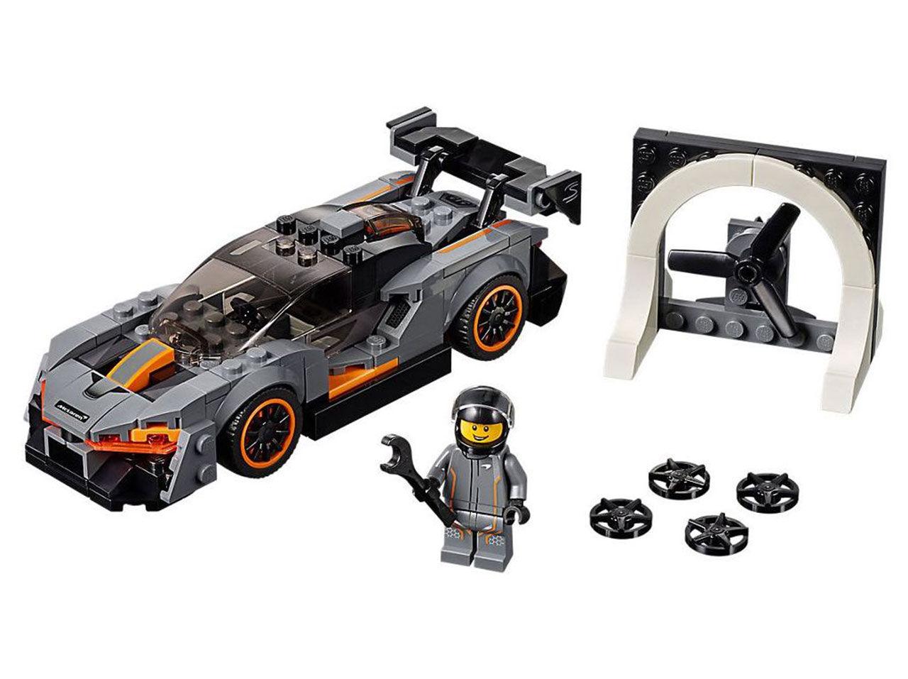 McLaren Senna i liten Lego-version