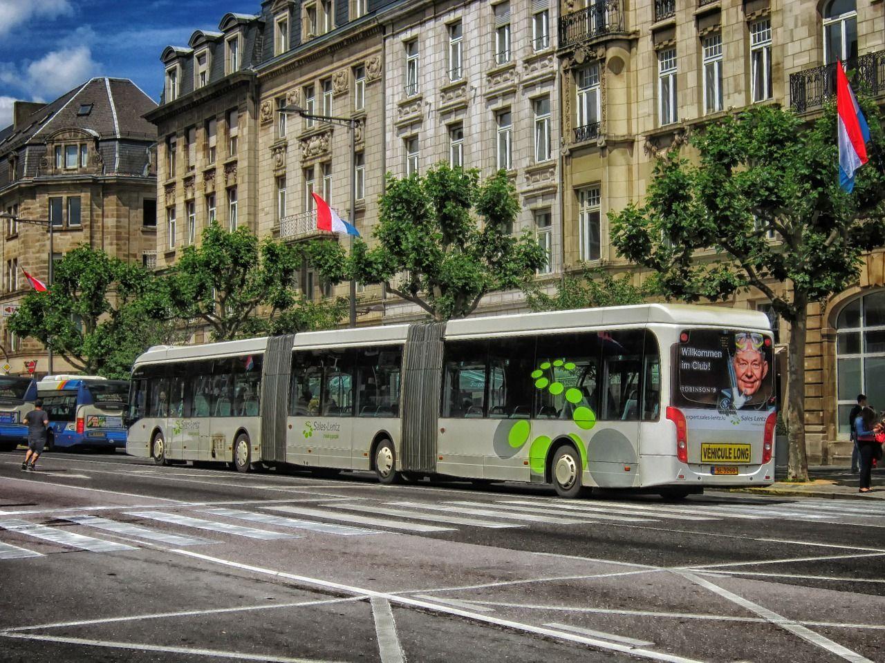 All kollektivtrafik i Luxemburg blir gratis