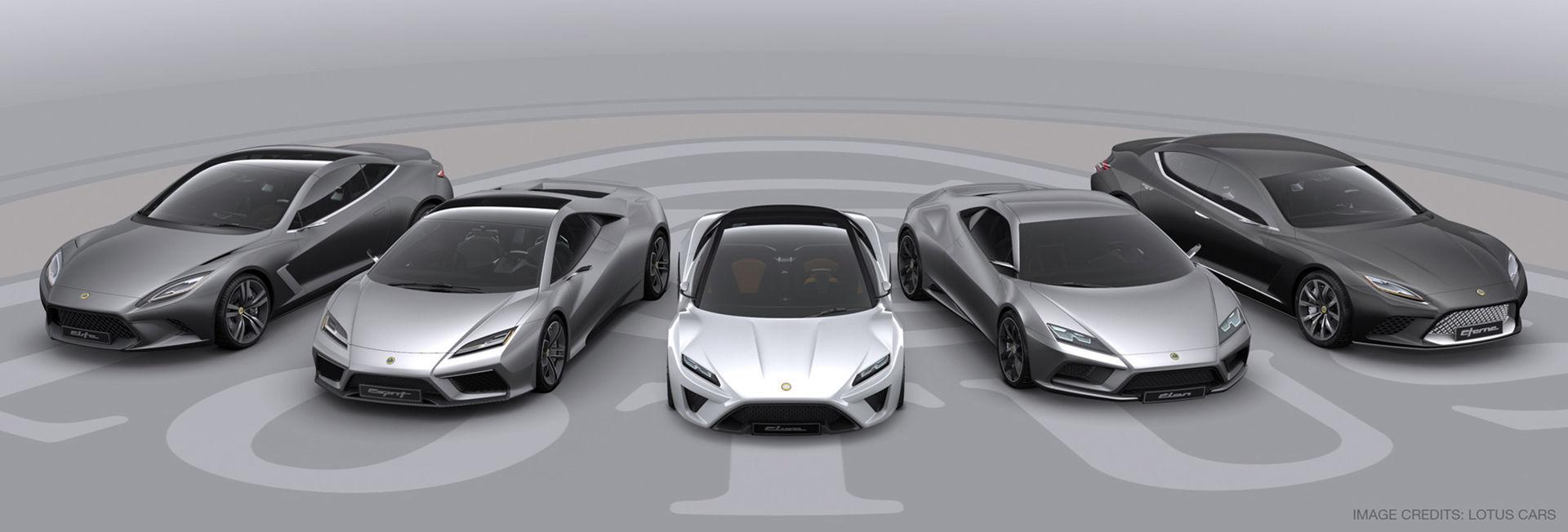 Lotus håller på med en eldriven superbil