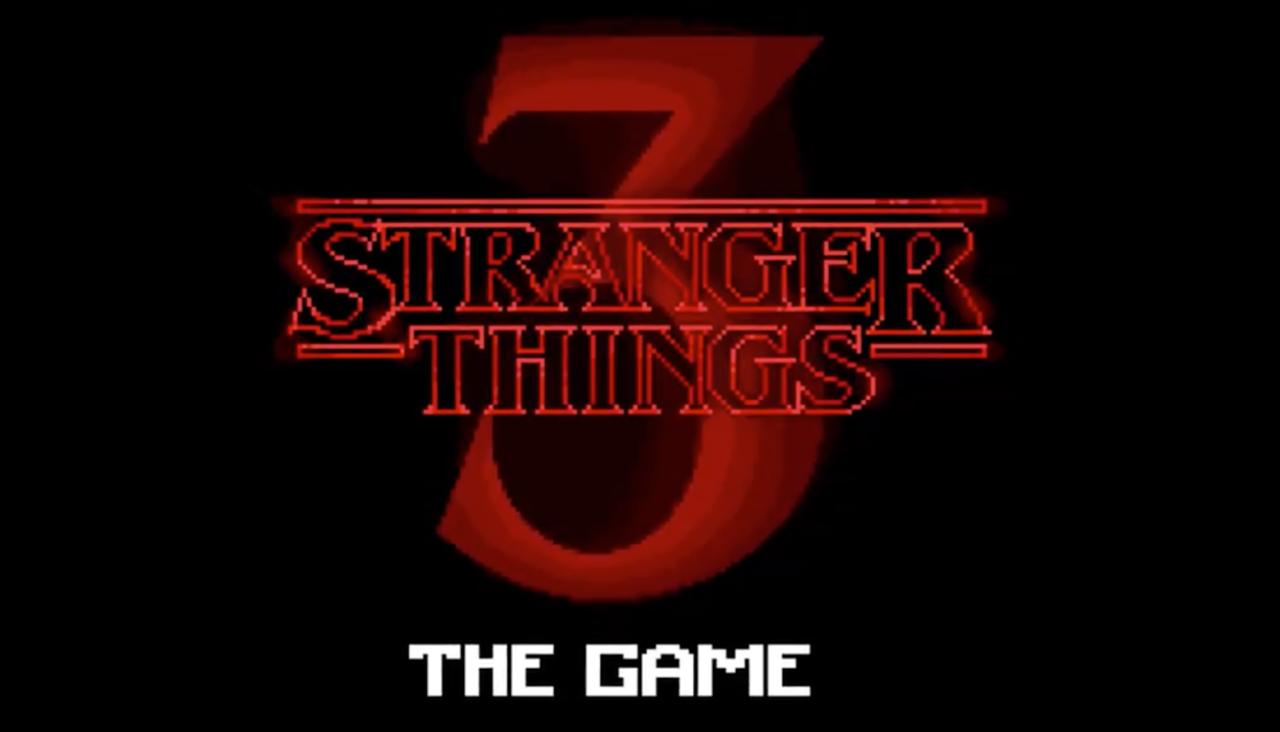 Stranger Things 3 blir spel