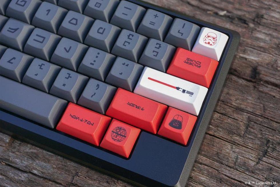Fixa Star Wars-tangenter till ditt tangentbord